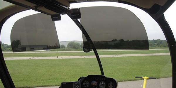 Robinson R66 Sun Visors