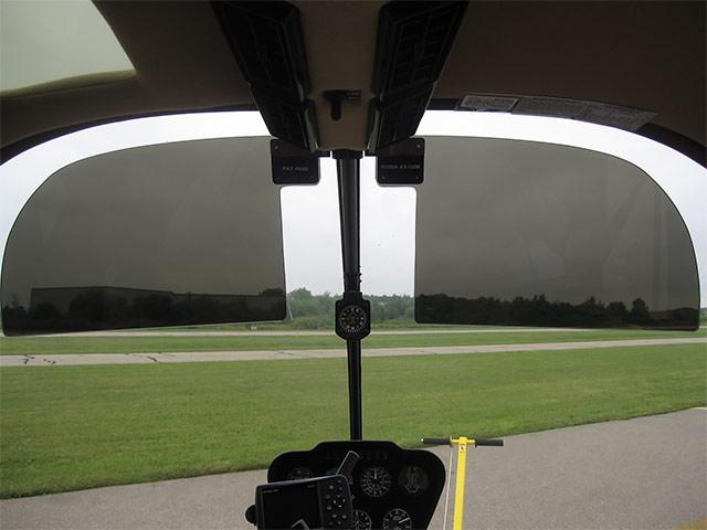 Robinson R66/R44/R22 Sun Visors – Robin Aviation Products