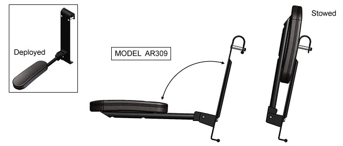 Robinson R44 Arm Rest
